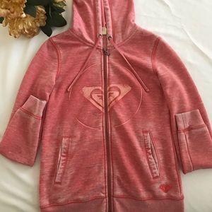 ROXY hoodie sweatshirt zipper sweater jacket